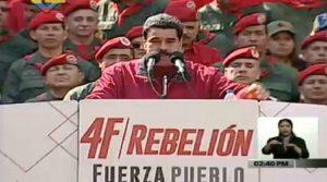 la rebelión popular y militar bolivariana está más viva que nunca